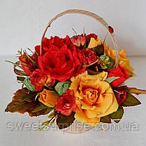 Осенний букет из конфет (мини), фото 3