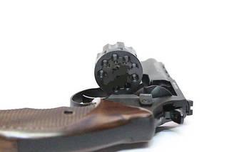 """Револьвер Trooper 4.5"""", под патрон Флобера, сталь мат/чёрн пласт/под дерево, револьверы, пневматика, фото 2"""