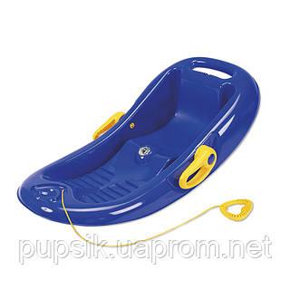 Санки корыто Snow Flipper de luxe KHW (синие)