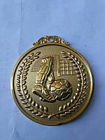 Медаль HB037 gold с лентой