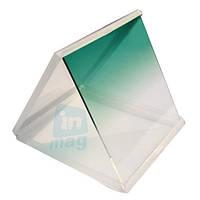 Светофильтр Cokin P зеленый градиент квадратный.