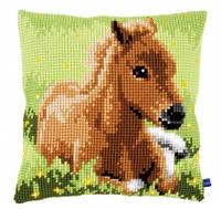 """Набор для вышивания крестом VERVACO """"Brown foal (Гнедой жеребёнок)"""""""
