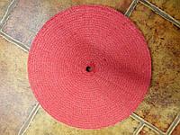 Круг сизальный SS красный с пропиткой для полировки нержавеющей стали
