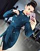 """Женское демисезонное пальто """"Волна"""" (4 цвета) (+ большие размеры)"""
