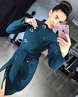 """Женское демисезонное пальто """"Волна"""" (4 цвета) (+ большие размеры), фото 1"""