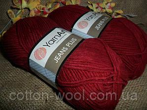 Yarnart Jeans Plus (Ярнарт Джинс Плюс) 66 марсала