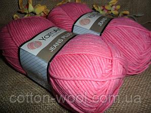 Yarnart Jeans Plus (Ярнарт Джинс Плюс) 42 ярко розовый