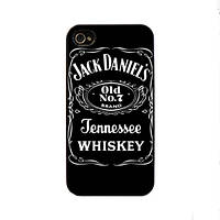 Чохол для iPhone 4/4S Jack daniel's - Tennessee Whiskey чорний