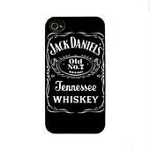 Чехол для iPhone 4/4S Jack Daniel's - Tennessee Whiskey черный