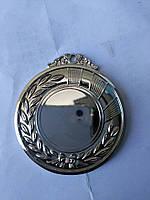 Медаль HB040 silver с лентой