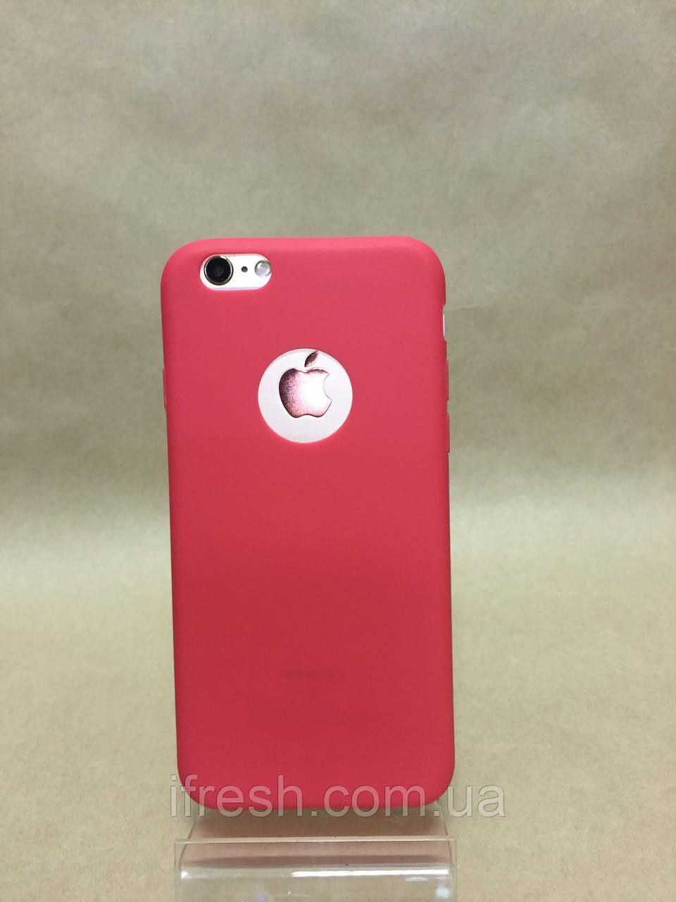 Чехол силиконовый Soft Touch для iPhone 5/5s, коралловый