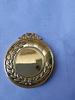 Медаль HB040 gold с лентой
