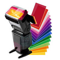 Цветные гелевые фильтры, 12 шт.
