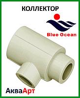 Коллектор наборной из PPR 32х20х1 BLUE OCEAN