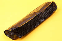 Черные мешки для грибных блоков (7-8 кг) 350*750 мм. (без фальца), фото 1