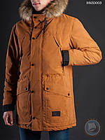 Зимняя куртка (парка) Staff - Mount brown Art. BRZ0003 (светло-коричневый)