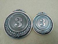 Медаль HB053 65 mm bronze с лентой