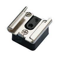 """Адаптер-переходник типа """"башмак"""" для установки в трипод, кронштейн с резьбовым отверстием 1/4""""-20."""