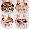 Маска для лица увлажнение и питание в виде тигра 3D маска/штука