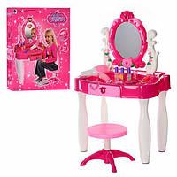 Детский игровой набор трюмо + музыка + стульчик 661-22