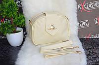 Женская сумка. Молочная., фото 1