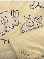 Кроликовое одеяло 200х220 Prestij Textile 88014, фото 1