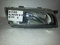 Фара левая БУ Nissan Almera N15 1998-1999 года. Оригинал. Код 260602N385