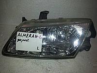 Фара левая БУ Nissan Almera N16 2000-2002 года. Оригинал. Код 26060BN01A