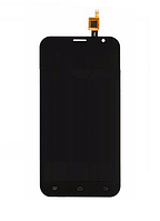 Оригинальный дисплей (модуль) + тачскрин (сенсор) для Fly FS551 Nimbus 4 (черный цвет)