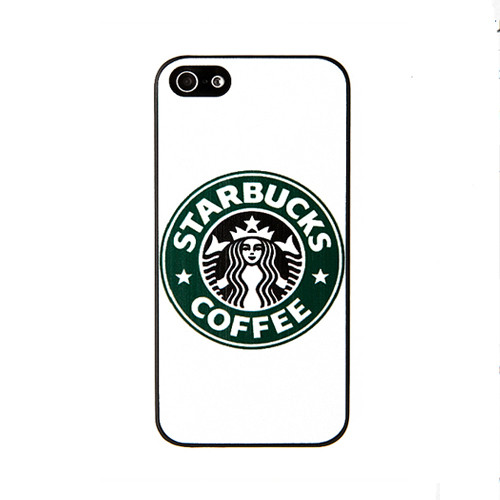 Чехол для iPhone 5/5S Starbucks Coffee - белый