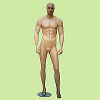 Манекен мужской гипсовый