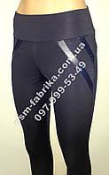 Модные женские лосины с имитацыей карманов, фото 1