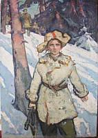 """Картина """"Валя Котик"""" автор Стиль Л.М.1965 г."""