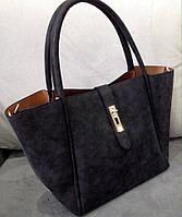 Женская стильная и модная сумочка цвет черный