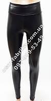 Кожаные модные женские лосины, фото 1