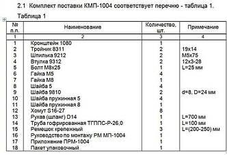 МК № 1004 Kia Picanto 2004 г.в., с дв.G4H6 (1,0 л), МКПП; Hyundai Getz 2008 г.в., с дв. G4H6 (1,1 л), МКПП