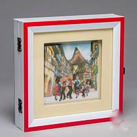 """Ключница-картина 3D """"Путешествия.Испания"""", 20x20 см."""