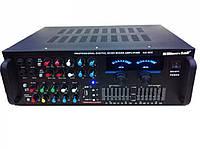 Звуковой усилитель AMP 902/903, портативный усилитель звука + караоке на 2 микрофона
