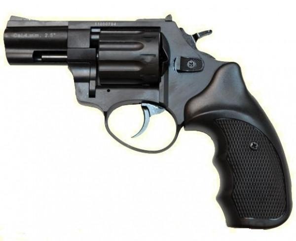 """Под патрон Флобера. Револьвер Trooper 2.5"""" сталь мат/чёрн пласт/чёрн, пневматическое оружие"""