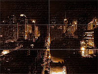 Панно Night City mini M 885х1190 мм АТЕМ