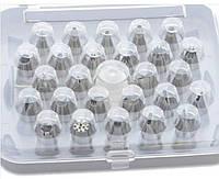 Кондитерские насадки 26 шт. в наборе