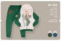 Спортивный костюм для мальчика теплый с начесом 134