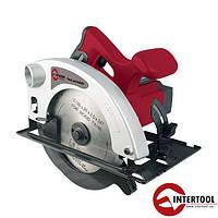Пила дисковая, 1200 Вт, 4500 об/мин, угол 0-90° (DT-0612)