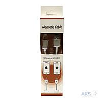 USB кабель PowerPlant Magnetic USB 2.0 AM - Lightning (DV00DV4059)