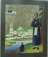 Икона Симеон Семён Верхотурский 19 века
