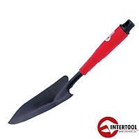 Лопата огородная 330 * 94мм с полой пластмассовой рукояткой под удлинитель (FT-0011)