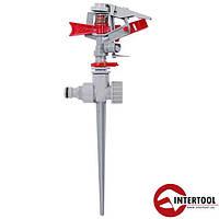 Дождеватель пульсирующий с полной или частичной зоной полива на костыле (GE-0053)