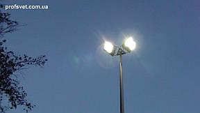 Освещение спортплощадки прожекторами с металлогалогенными лампами 1