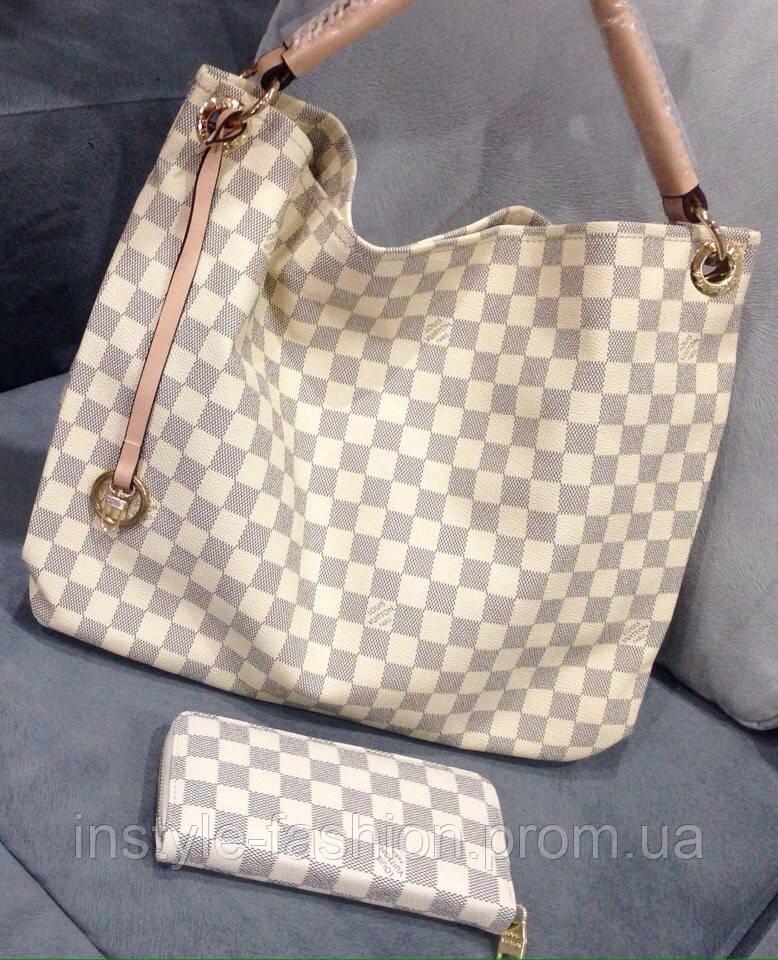14e4a25e9e5d Сумка женская Louis Vuitton Луи Виттон белая квадратная - Сумки брендовые,  кошельки, очки,