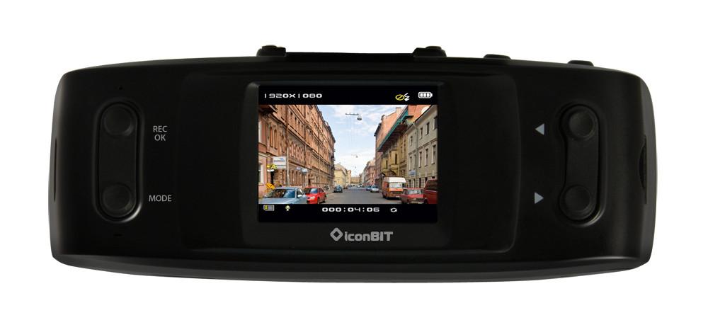 Видеорегистратор iconBIT DVR FHD GPS Black